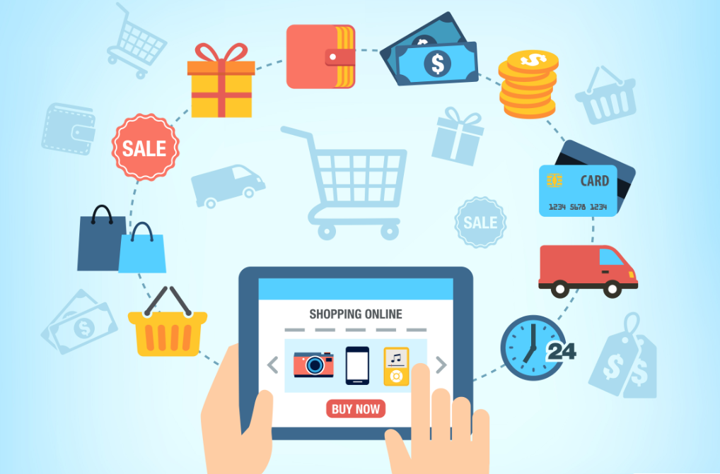 Buy products online via ecommerce platform and save money